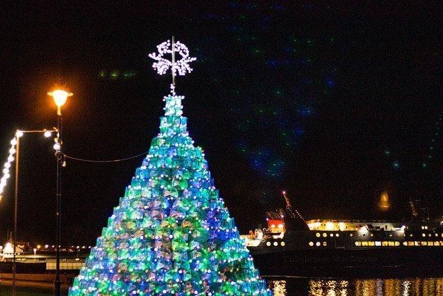 Creel Christmas tree